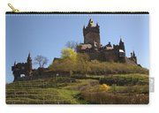 Cochem Castle And Vineyard In Germany Carry-all Pouch