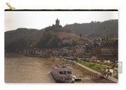 Cochem Castle, Town And River Mosel In Germany Carry-all Pouch