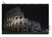 Coliseum At Night Carry-all Pouch by Jaroslaw Blaminsky