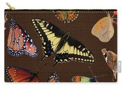 Collage Of Ca Butterflies Carry-all Pouch