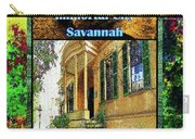 Collectible Dreaming Savannah Book Poster Carry-all Pouch