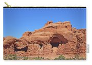 Colorado Arches Park Landscape Scrub Red Rocks Blue Sky 3340 Carry-all Pouch