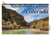 Colorado - Glenwood Canyon Carry-all Pouch
