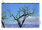 Colorado National Monument Colorado Blue Sky Red Rocks Clouds Trees 2 10212018 2842.jpg Carry-all Pouch