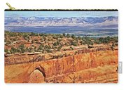 Colorado National Monument Trees Rock Formations 3087 Carry-all Pouch