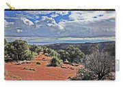 Colorado National Monument Trees Rock Formations Clouds 3001 Carry-all Pouch