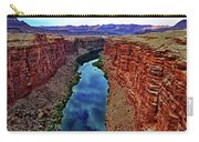 Colorado River From The Navajo Bridge 001 Carry-all Pouch