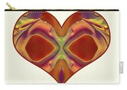 Colorful Heart - Naked Truth - Omaste Witkowski Carry-all Pouch by Omaste Witkowski