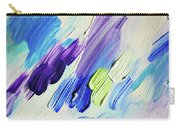 Colorful Rain Fragment 2. Abstract Painting Carry-all Pouch