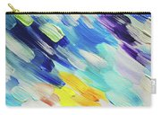 Colorful Rain Fragment 5. Abstract Painting Carry-all Pouch