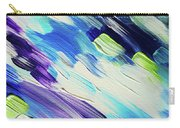 Colorful Rain Fragment 6. Abstract Painting Carry-all Pouch