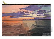 Colorful Sunset Over The Gulf Of Mexico Carry-all Pouch