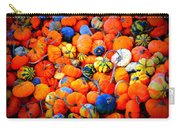 Colorful Tiny Pumpkins Carry-all Pouch
