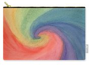 Colorful Wave Carry-all Pouch