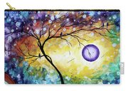 Colorful Whimsical Original Landscape Tree Painting Purple Reign By Megan Duncanson Carry-all Pouch
