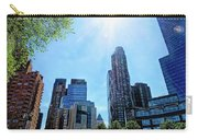 Columbus Circle At Mid Day Carry-all Pouch