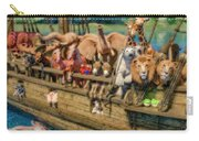 Come Aboard There's Plenty Of Room Ark Carry-all Pouch