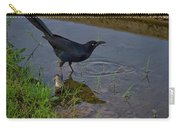 Common Grackle Carry-all Pouch