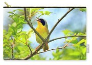 Common Yellowthroat Singing His Little Heart Out Carry-all Pouch