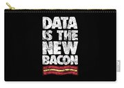 Computer Big Data Bacon Geek Pun Apparel Carry-all Pouch