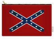 Confederate Stars And Bars T-shirt Carry-all Pouch