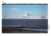 Cook Inlet And The Alaska Range From Ninilchik Carry-all Pouch