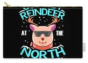 Coolest Reindeer At The North Pole Carry-all Pouch