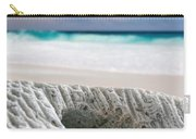 Coral By The Sea Carry-all Pouch