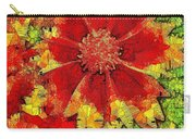 Coreopsis Abstract Carry-all Pouch