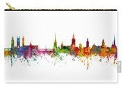 Cork, Stockholm And Gothenburg Skyline Mashup Carry-all Pouch