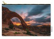 Corona Arch At Sunrise Carry-all Pouch