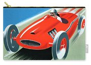 Cote D Azur, French Rivera Vintage Racing Poster Carry-all Pouch