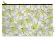 Cotton Seed Lilies Carry-all Pouch