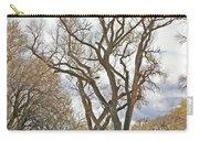 Cottonwood Az Bayou Leafless Tree Sky Clouds Path 31262019  Carry-all Pouch