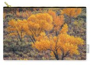 Cottonwoods In Autumn Carry-all Pouch by Dustin LeFevre