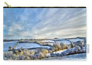 Countryside Winter Scene Carry-all Pouch
