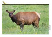 Cow Elk Grazing Carry-all Pouch