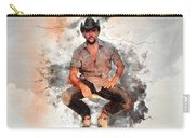 Cowboy Flanery Carry-all Pouch