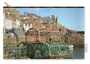 Crail Harbour And Lobster Pots Carry-all Pouch