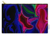 Crazy Abstract Amoeba Carry-all Pouch