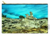 Crazy Rock Formations In New Mexico Carry-all Pouch