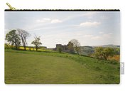 Crighton Castle Ruins And Hills, Midlothian Carry-all Pouch