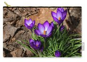 Crocus In Spring 2019 I Carry-all Pouch