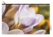 Crocus Carry-all Pouch by Whitney Goodey