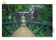 Crossing The Kissing Bridge Carry-all Pouch