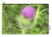 Crown Thistle Carry-all Pouch