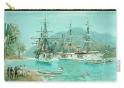 Cruiser And Gunboat Hoist On Ponape The German Flag Carry-all Pouch