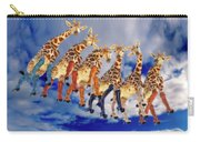 Curious Giraffes  Carry-all Pouch