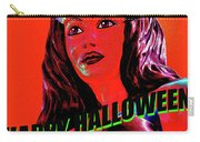 Custom Halloween Card She-devil Carry-all Pouch
