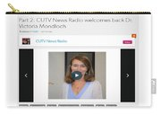 Cutv News Radio Welcomes Back Dr. Victoria Mondloch Carry-all Pouch